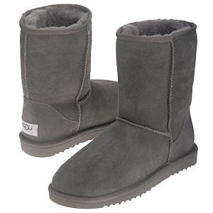 Classic short ugg boots grey
